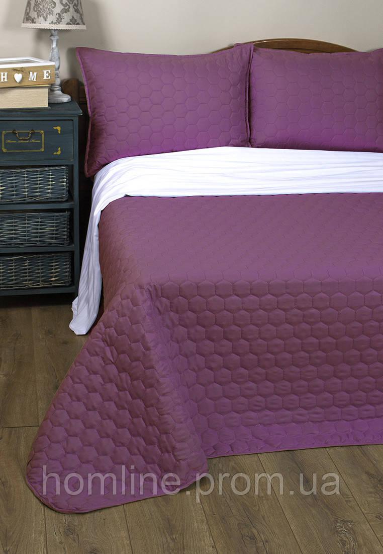 Покрывало 150*220 Lotus Broadway Basic фиолетовый полуторный размер