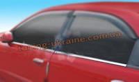 Окантовка окон Carmos на Daewoo Lanos 1997 седан