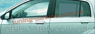 Окантовка на окна Carmos на Hyundai Getz 2002-2012