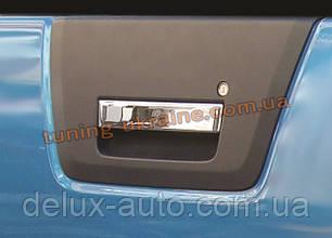 Накладка на заднюю ручку Carmos на Nissan Navara D40 2009-2014
