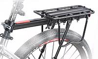 Багажник для велосипеда, велобагажник до 50кг консольний задній