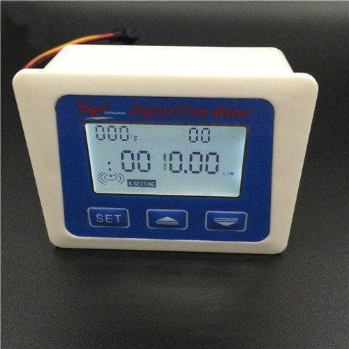 Цифровий витратомір рідини з індикатором