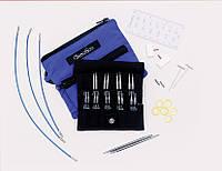 Набор спиц ChiaoGoo 7230-S TWIST Blue Shorties 5см и 8см стальные