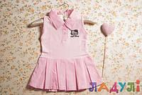 Летнее платье для девочки Hello Kitty, рост 98 см (3-4 года)