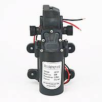 Насос мембранний високого тиску з різьбою, 12В, 80Вт, фото 1