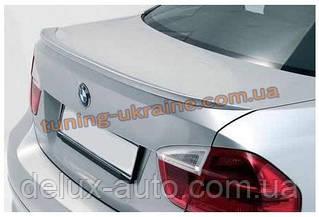 Анатомический спойлер узкий под оригинал на BMW 3 E90 2005-2012