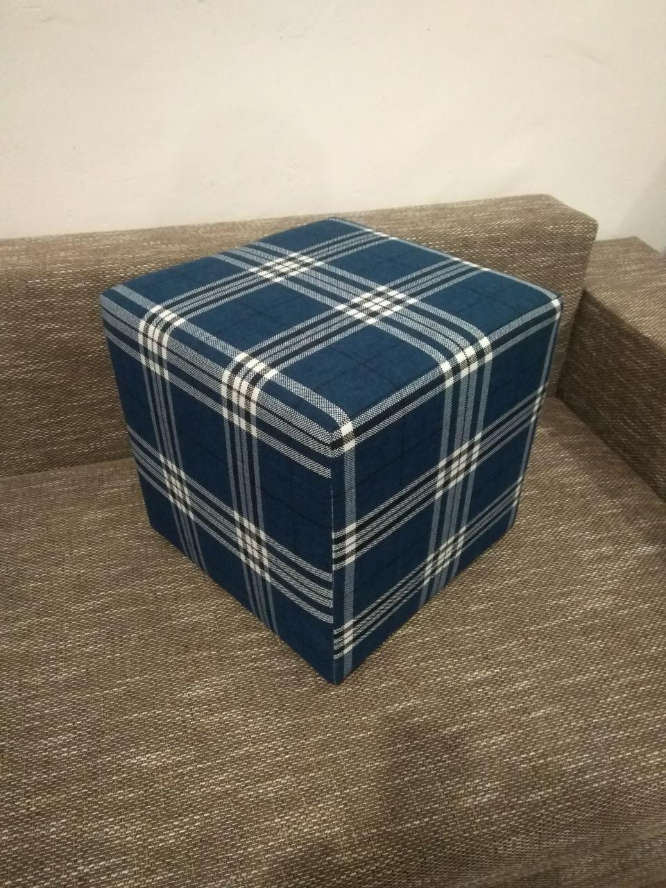 Пуф квадратный Шотландия С3 ,пуфик,пуфики,пуф кожзам,пуф экокожа,банкетка,банкетки,пуф куб,пуф фото