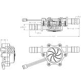 Датчик протоку USN-HS10PA, 0.5-10 л / хв, фото 4