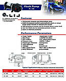 Насос високого тиску SHURGEFLO FL-100, 24в, 180Вт. 12л, 7бар, фото 3
