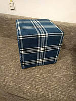 Пуф квадратный Шотландия С3 ,пуфик,пуфики,пуф кожзам,пуф экокожа,банкетка,банкетки,пуф куб,пуф фото, фото 6