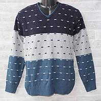 """Джемпер мужской стильный с V-вырезом, размеры M-XL (6 цветов) """"FOREST"""" купить недорого от прямого поставщика"""