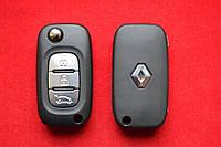 Корпус выкидного ключа Renault 3 кнопки Без логотипа