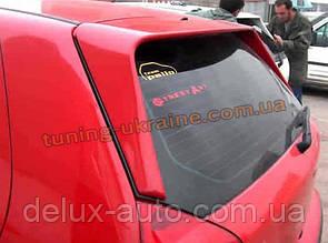 Спойлер длинный под покраску на Fiat Palio 178 1999-2014