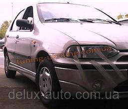 Накладки на пороги под покраску на Fiat Palio Sporting 178 1999-2003