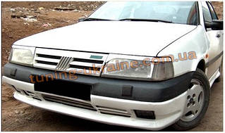 Юбка на передний бампер под покраску на Fiat Tempra 1991-1999