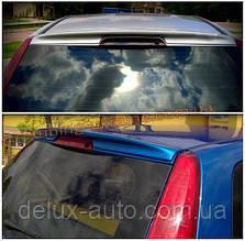 Спойлер без стопа под покраску на Ford Fiesta 5 дверей 2002-2008