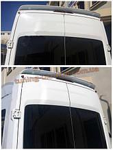Спойлер без стопа под покраску на Ford Transit 2014-2016