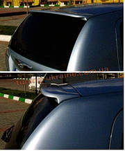 Спойлер без стопа под покраску на Hyundai Getz 2002-2012
