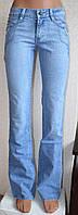 Джинсы женские ростовка 25-30 размеры . Модели ассорти. 6 шт/уп