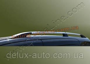 Рейлинги хромированные тип Premium на Mercedes Citan 2013 длинная и короткая база