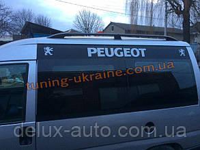 Рейлинги Черные тип Premium на Renault Logan MCW 2006-2013