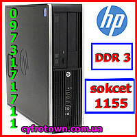 Компютер ПК HP Compaq 6300 pro Intel Celeron G1610 4Gb DDR3 80Gb HDD s1155 Ivy Bridge sff бу робочий
