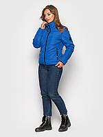 Демисезонная женская куртка К 0036 с 03 синий