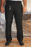Черные батальные классические брюки