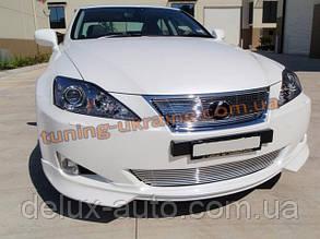 Накладка на передний бампер для Lexus is 2 до 2013 года