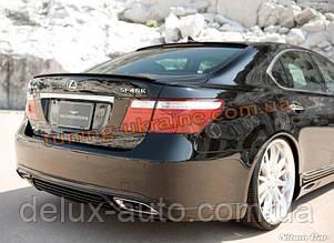 Накладка задний бампер для Lexus ls 4 2006-2012