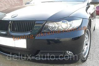 Реснички на фары для BMW 3 E90 2005-2012