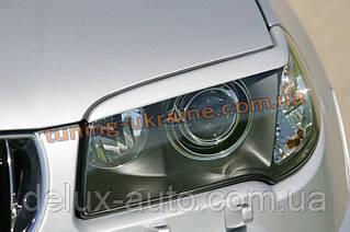 Реснички на фары для BMW X3 E83 2003-2010