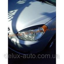 Реснички на фары для Hyundai Accent 3 2006-2010 узкие