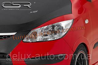 Реснички на фары для Hyundai i10 2007-2012