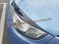 Реснички на фары для Hyundai ix35 2010-2013