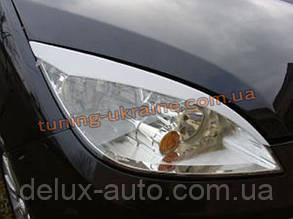Реснички на фары для Mitsubishi Colt 2004-2012