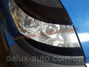 Реснички на фары для Peugeot Boxer 2006-2014 нижние