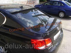 Спойлер-сабля из стеклопластика на Lexus gs 3 2005-2011