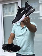 Мужские летние кроссовки Nike Air Max 270,черно-белые 44р, фото 3