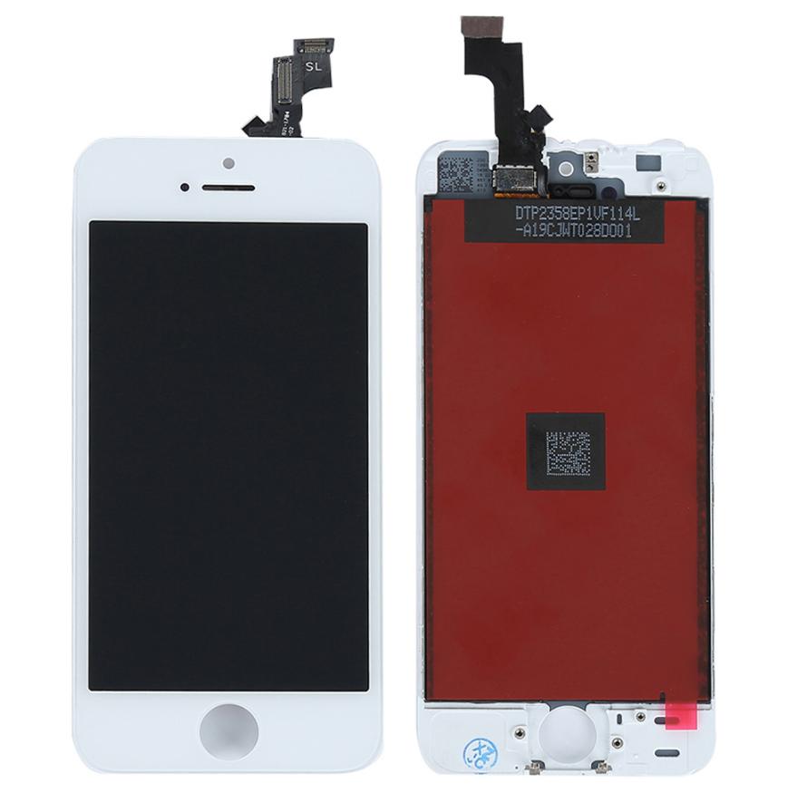 Дисплей + сенсор iPhone 5S/5SE, White (high copy)