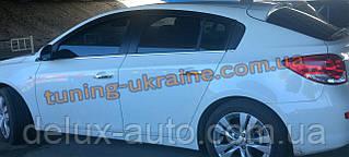 Хром накладки на стекла молдинг стекла стекольный молдинг для Chevrolet Cruze 2015+ седан