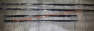Хром накладки на стекло молдинг стекла стекольный молдинг для Hyundai i20 2009+