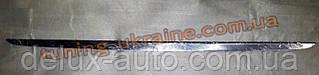 Хром накладка на багажник кромка багажника для Kia Rio 3 2011-2015 хэтчбек