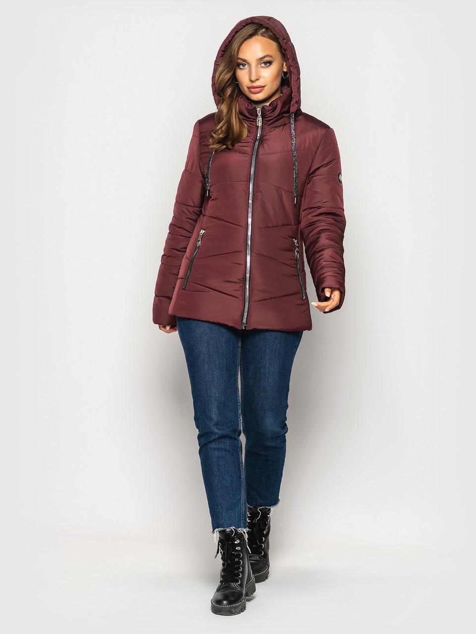 Демисезонная куртка батал К 00563 с 02
