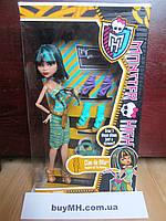 Кукла Monster High Cleo De Nile  & Shoe Collection Клео де Нил Я люблю обувь