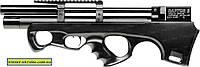 Пневматическая винтовка PCP Raptor 3 Compact кал. 4,5 мм. Цвет - черный (чехол в комплекте), фото 1