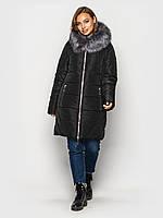Зимняя куртка больших размеров К 0077 с 01