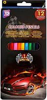 Карандаши цветные Racing 12 цветов