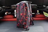 Городской рюзкак Asos (black/red), стильный рюкзак, фото 3