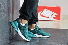 Мужские летние кроссовки Nike Air Max 270,бирюзовые 41,46р, фото 2